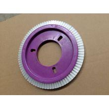 0,4 milímetros de nylon branco roda escova para LK Stenter Machinery (YY-629)