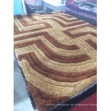100% Polyester Stretch Seide Teppich Bereich Teppich aus Textil