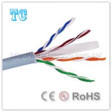 Сетевой кабель UTP 6 категории Cat 23AWG Сетевой кабель Ce / RoHS