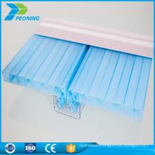 Alibaba china supplier U locking-design structure polycarbonate shape system sheet
