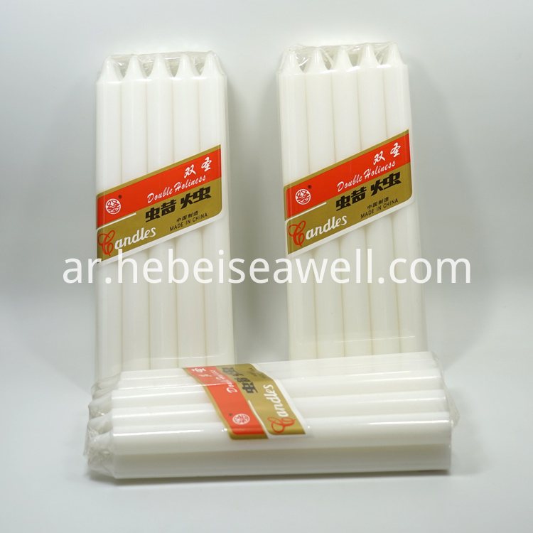 White Stick Candle 60