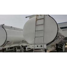 semi-reboque tanque de água de óleo combustível de três eixos