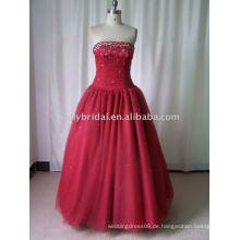Hochzeit Quinceanedra Kleider Party Shiny Abendkleider mit Perlen