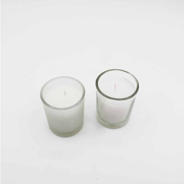 Glass Jar Clean Burning velas de soja perfumadas naturales