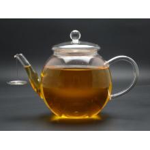 High Quality Borosilicate Glasstea Pot with Glass Filter, 900ml