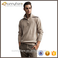 Custom knit pure cashmere mens jumper