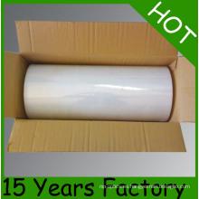 40kg / 50kg Uso de la máquina LLDPE Clear Stretch Film Jumbo Roll