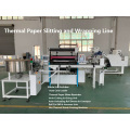 Automatic Thermal Paper Slitting Rewinding Machine and Core Loader and Wrapping Machine