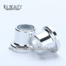 Shiny silver 13mm stepped perfume collar
