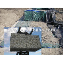 hexagonal wire mesh in dam protection