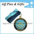 Medalla al por mayor de los deportes con la cinta para la regata