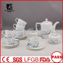 P & T 2015 новый продукт 15pcs сезонов дизайн фарфора Китай чай набор кофе набор