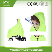 Waterproof PVC Polyester Adult Motorcycle Poncho