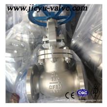 Flange de aço inoxidável RF / Rtj / FM Manual de água / válvula de globo industrial