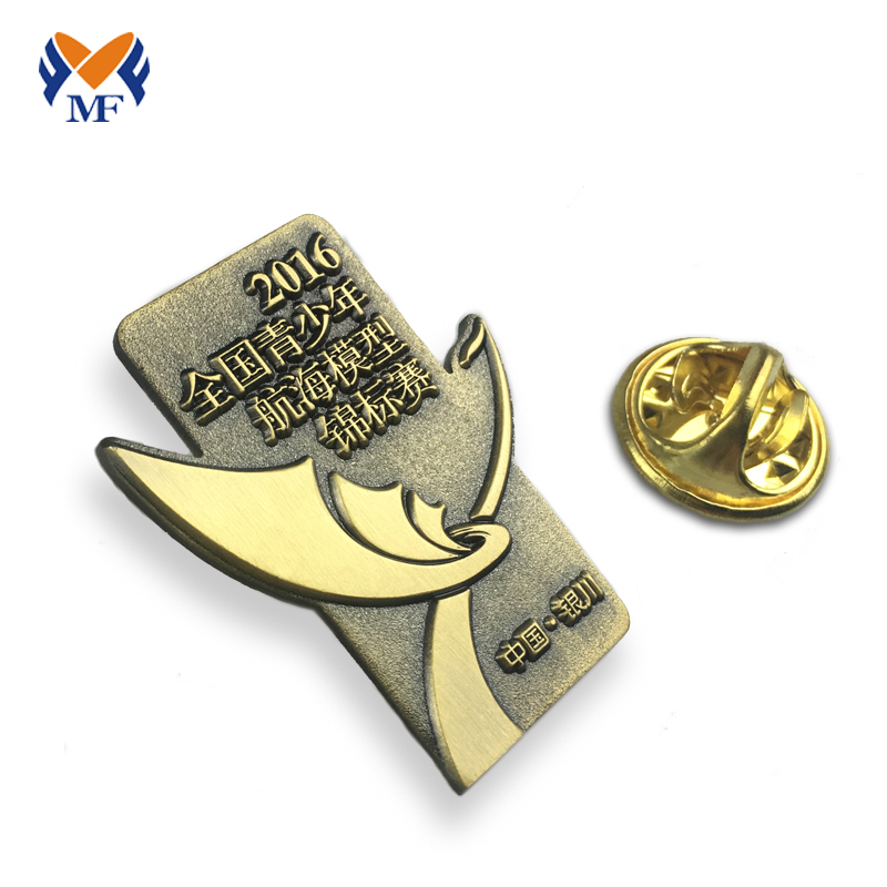 Pin Badge Mockup