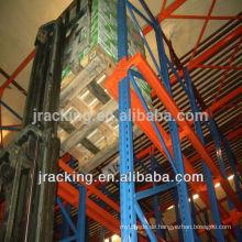 China-Gestellfabriklager-Speicherlösungs-Palettenregale Antrieb im Gestell