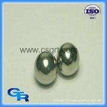 Boules en acier inoxydable de 100 mm