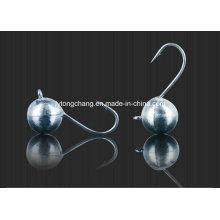 Großhandel Wolfram Ball Ice Jig mit runden Kopf Jigs