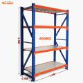 Medium duty industrial assembled warehouse storage hose rack