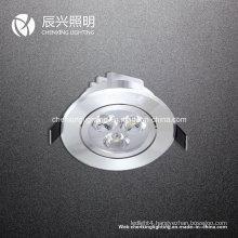 3W LED Ceiling Light Aluminum