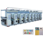 Shopping Bag Rotogravure Printing Machine For Bopp / Pet / Pe Film Label Printing