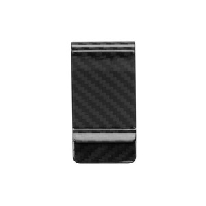 Carbon Fiber Glossy Money Clip Credit Card