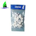 decoração neve artificial neve instantânea