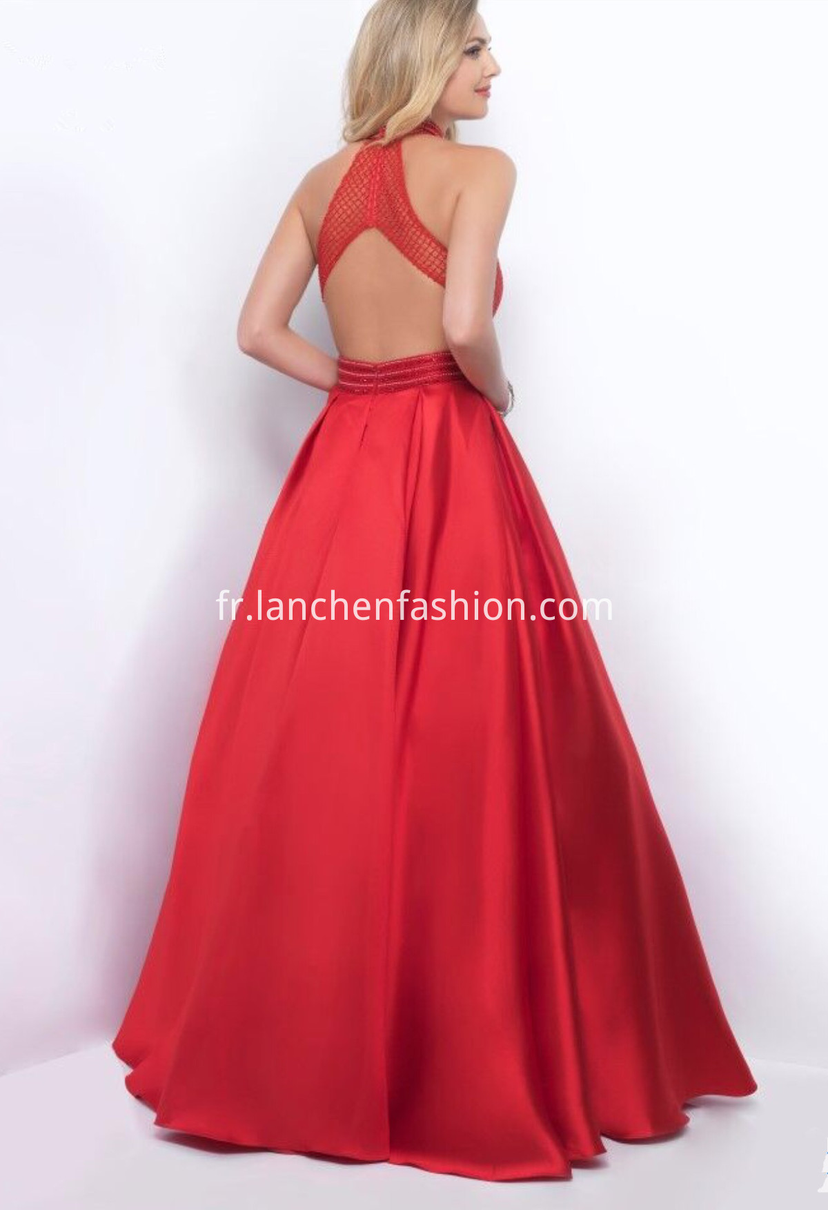 Red Backless Dress