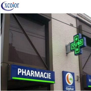 WiFi Control P10 Pharmacy Cross LED Display 100x100cm