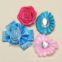 pernos de la broche de flor hecha a mano