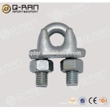 Carbono acero gota forjada agarre/alambre cuerda sujetacable