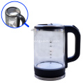 LED Blue Light Electric Glass Kettle
