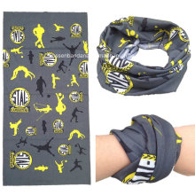 OEM Produce Customized Design Multipurpose Outdoor Sports Buff Printed Scarf