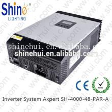 1kVA 800W Off Grid Solar hybride Pure Sine Wave Solar cc à courant alternatif avec MPPT Controller CE approuvé