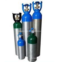 Cilindros de oxigênio de respiração leve Ambulância