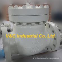 Válvula de retención flotante de acero fundido