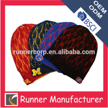 Summer 100 acrylic fashion knitted hat