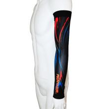 O OEM Lycra imprimiu as luvas do braço dos esportes da compressão (CYA03)