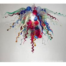 Fashionable Hanging LED Chandelier Murano Glass Pendant Light