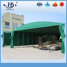 PVC laminated outdoor tent tarpaulin