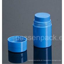 50g plástico peneira jarra para embalagem de pó cosmético (PPC-LPJ-022)