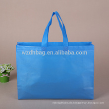 Am besten verkaufen Sie wiederverwendbares kundenspezifisches Logo-Vlies-Taschen-Einkaufen