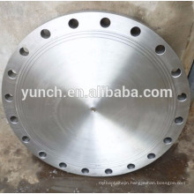 Factory Produce Asme B16.5 Forged Grade 2 Class 150 Dn80 Dn100 Dn150 Titanium Blind Pipe Flange