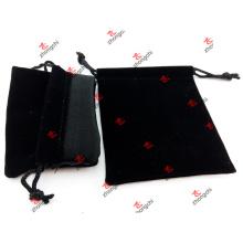 Fábrica de alta qualidade personalizado veludo bolsa bolsas presentes (CVB51204)