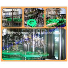 Botella de PET o botella de vidrio, agua mineral, máquina de llenado, elección de la calidad