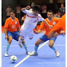 Piso de interbloqueo de PP y PVC para deportes de interior