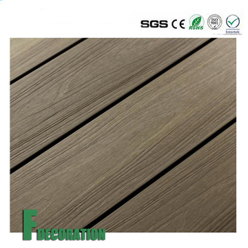 Co-Extrusion Waterproof Wood Plastic Composite WPC Outdoor Decking