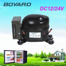 R134A Dc 12 v / 24 v fridge compressor frigorifico for SOLAR 12v\24 dc refrigerator