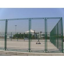 Double wire mesh fence / Pvc coated wire fence panel