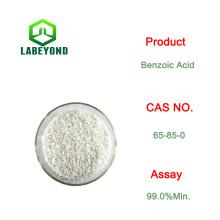 Flocons blancs d'acide benzoïque de qualité technique Cas No .: 65-85-0